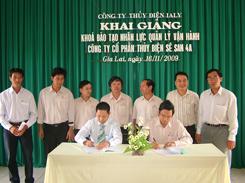 Khai giảng Khóa đào tạo học viên vận hành Thủy điện Sê San 4A