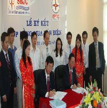 Lễ ký kết Hợp đồng Mua Bán Điện (26/03/2010)